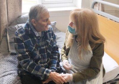 John Ross & his wife Marlene – Daily Mirror – Rhian Lubin