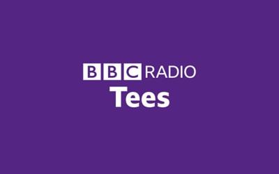 Margaret Davidson speaking to her local BBC radio station – Radio Tees